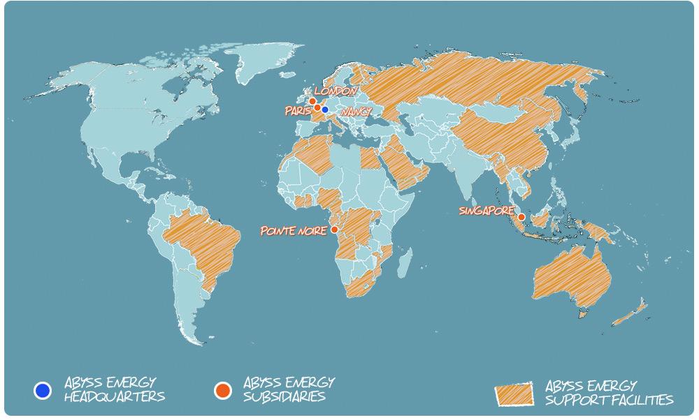 ABYSS ENERGY INTERNATIONAL PRESENCE